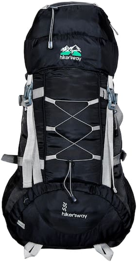 Hiker's Way Black Backpack & Hiking bag