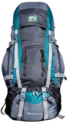 Hiker's Way Blue Backpack & Hiking bag