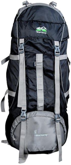 Hiker's Way Black Backpack & Hiking bag