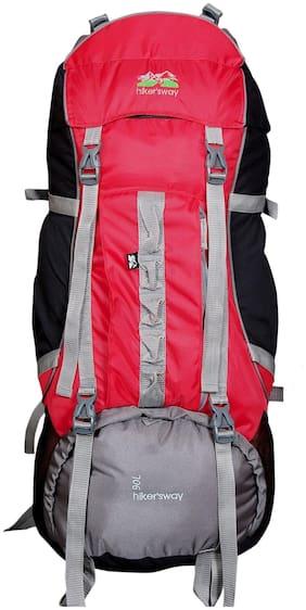 Hiker's Way Red Bag & Hiking bag