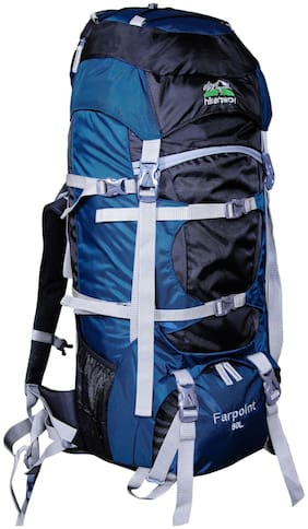 Hiker's Way Navy blue Bag & Hiking bag