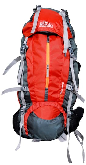 Himalayan Adventures Rucksack Hiking Backpack 75 Ltrs Red HA_8107
