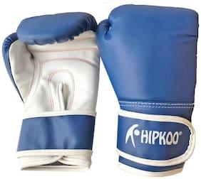 Hipkoo Fitness Boxing Gloves (Size 10 Oz) Boxing Gloves (M, Blue)
