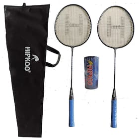 Hipkoo Grab Badminton Set With 3 Shuttlecocks Badminton Kit