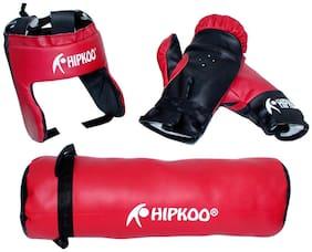 Hipkoo Kid Boxing Kit (Punching Bag, Gloves & Head Guard) Boxing Kit