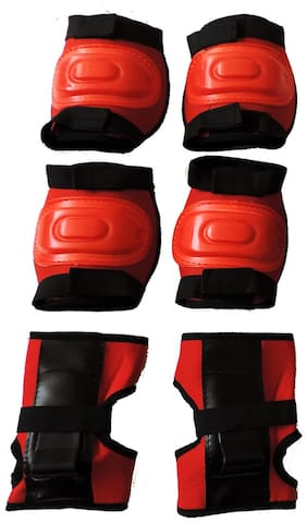 Hipkoo Protection Guard 3 In 1 (Elbow, Knee & Hand Guard) Skating Kit
