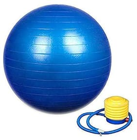 Hipkoo Sports Fitness Non Slip Gym Ball With Foot Pump Diameter - 75cm