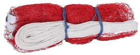 Hipkoo VICTORY BADMINTON NET 4 SIDE TAPE Badminton Net  (Red)