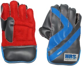 HRS College Wicket Keeping Gloves (Men;Multicolor)