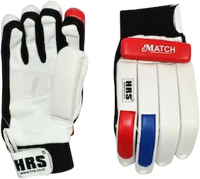 HRS Match Batting Gloves (Boys;Multicolour)