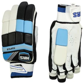 HRS Super Batting Gloves (Men, Multicolour)
