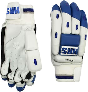 HRS Test Batting Gloves (Men, Multicolour)