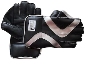 IBEX College Wicket Keeping Gloves Wicket Keeping Gloves (L, Black)