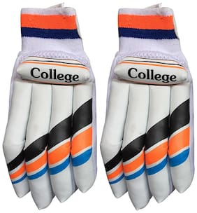IBEX College Batting Gloves (L, Multicolor)