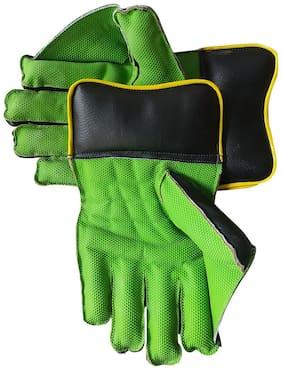 IBEX JetFire Practice Wicket Keeping Gloves (Men's Green)