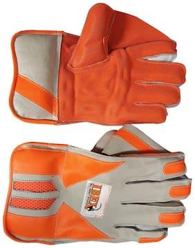 IBEX Match Wicket Keeping Gloves Wicket Keeping Gloves (L, Orange)