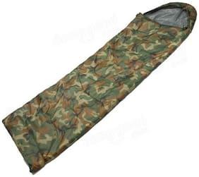 IBS Military Army Camouflage Waterproof Hood Camping Hiking Travel 32 Sleep For Single Person Sleeping Bag (camo)