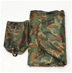 IBS Military Army Camouflage Waterproof Hood Camping Hiking Travel 40 Sleep For Single Person Sleeping Bag (camo)