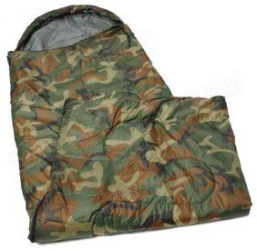 IBS Military Army Camouflage Waterproof Hood Camping Hiking Travel 21 Sleep For Single Person Sleeping Bag (camo)