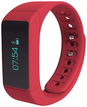 IBS red Fitness Sport Smart Bands redFitness Band Wristband Watch For Android & IOS Smartphones
