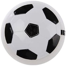 Indoor Air Power  Kids Football Disk with Foam Bumpers and Light up Led football (MultiColor)1 Pc