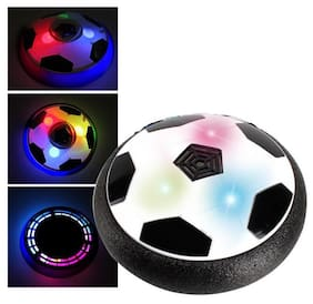 Indoor Football Sport Toys Ultimate Game, with Multi Lighting Feature -Magic Hover Football Toy Best Toy for Kids (1Pc) Multicolor