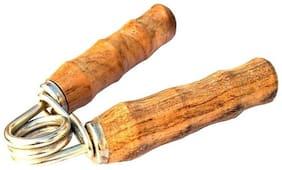 Inrange Hand Grip Wooden,Wooden Hand Grip/Fitness Grip Pack of 1 Hand Grip/Fitness Grip