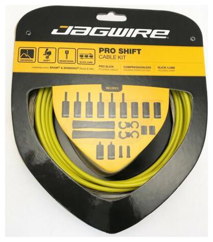 Jagwire Pro Shift Kit Road//Mountain SRAM//Shimano Yellow