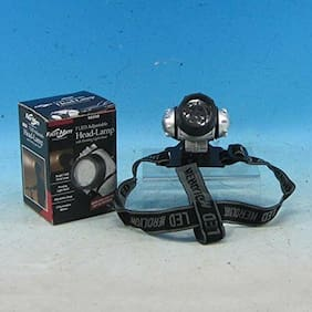 JD YEATTS 7 LIGHT HEAD LAMP BATTERY POWERED CAMPING HIKING OUTDOOR