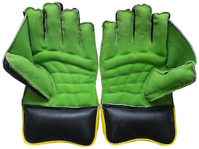 JetFire Regular Wicket Keeping Gloves (Men, Green)