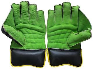 JetFire Regular Wicket Keeping Gloves (Men, Green)