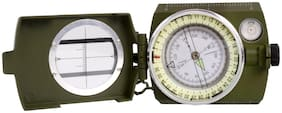 JM Big Size 3 in 1 Military Hiking Camping Lens Lensatic Magnetic Compass - 33