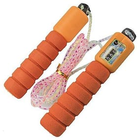 JMO27Deals  Adjustable form Skipping Rope With Manual Counter For Men Women Speed Skipping Rope