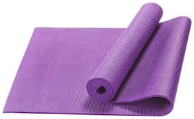 JMO27Deals Eco Friendly Anti Skid Yoga & Exercise Mat Purple 8 mm Yoga Mat