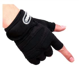 JMO27Deals Gym Gloves for Weightlifting, Crossfit, Fitness & Other Sports with Wrist wrap Support for Men & Women
