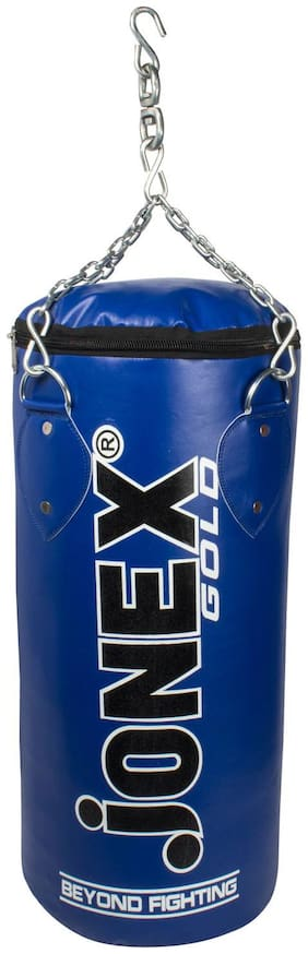 Jonex Punching Bag (Unfilled) Gold 2ft (24) Hanging Bag