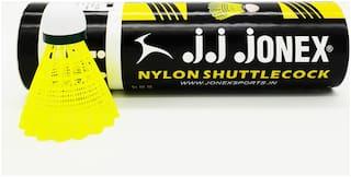 Jonex Shuttle 350 Nylon Shuttle (Pack of 6)