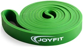 JoyFit - Resistance Loop Bands for Legs, Hands, Workout, Stretching, Exercise, Crossfit, Fitness, Yoga, Gym, Pilates for Men and Women (Green)