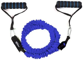 Joyfit - Resistance Tube, Toning Tube with Cloth Cover (Blue)