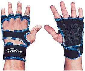 JoyFit Half finger glove - L Size , Blue