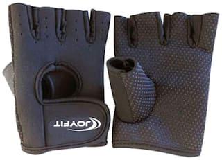 JoyFit Half finger glove - L Size , Black