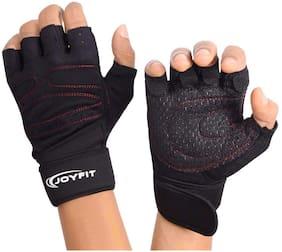 JoyFit Half finger glove - Xl Size , Black