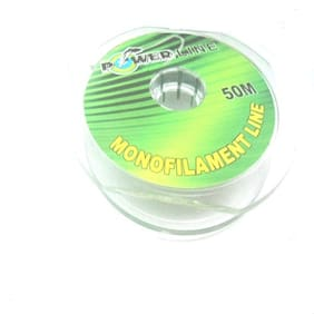 JUST ONE CLICK  50 M  MONO FILAMENT LINE  8 KG  16.9 LB