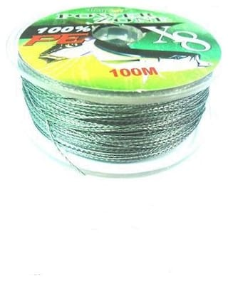 JUST ONE CLICK BRAIDED SUPER FISHING LINE 100 M 0.35 MM 16.5 kg