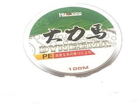 JUST ONE CLICK Multifilament Super Braided Fishing Line 100 m 30 mm 0.9 kg
