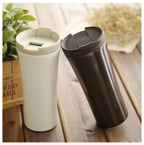 k kudos 1pc 480ml Double Wall Stainless Steel Coffee Thermos Cups Mugs Thermal Bottle