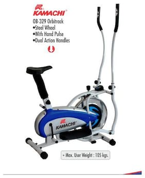 Kamachi Elliptical Bike Ob 329 With Steel Wheel