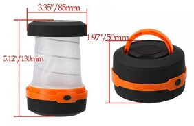 Kawachi Waterproof Portable Scalable LED Outdoor Camping Lantern Mini Tent Light