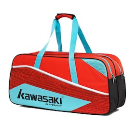 Kawasaki Blue & Red Medium Badminton Kit bag