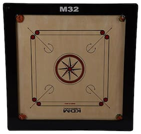 KDM sports M 32 carrom board